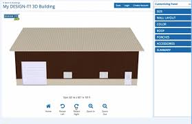 how to plan design your new post frame building online in 3d