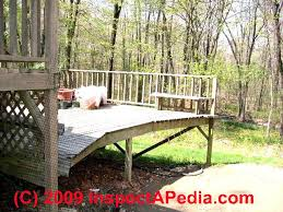 exterior railing height code. deer net deck rail (c) daniel friedman exterior railing height code