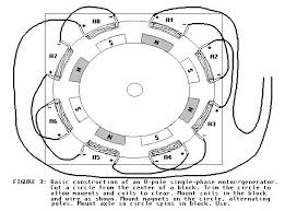 polyphase motor generator page electric motor wiring basics at Motor Generator Wiring Diagram
