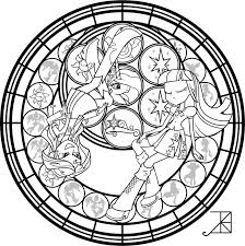 Sunset Twilight Sg Coloring Page By
