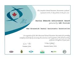 home page new brunswick dental association marion edwards award