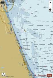 St Augustine Light To Ponce De Leon Inlet Marine Chart