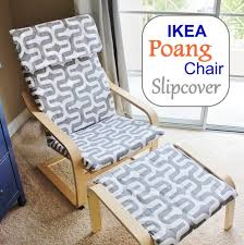 Make a brand new slipcover for your IKEA Poang Chair Cover! Here's a handy  DIY
