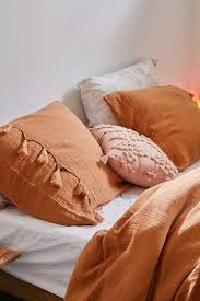 bungalow net tassel sham set bedroom