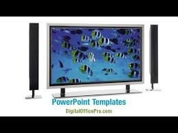 tv powerpoint templates plasma tv powerpoint template backgrounds digitalofficepro 06592w