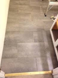 stick tiles floor i love my new bathroom floor its l and stick vinyl tile my stick tiles floor l and