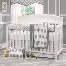 living excellent grey and white nursery bedding 19 cute baby sets neutral 25 owl crib sheets