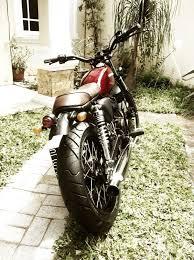 honda cb100 brat style motorcycles