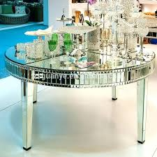 mirrored dining table round mirrored dining table large round mirror dining table view modern mirror dining