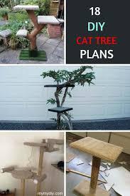 Cat Tree Designs Free 18 Classy Diy Cat Tree Tower Plans Free List Mymydiy