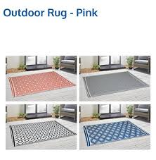 10 outdoor rugs which are back in stock