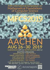 44th Mfcs Aachen August 26 30 2019