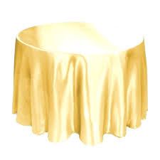 60 x square tablecloth on round table what size do i need for a