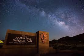 Night Sky Id Charts Stargazing Joshua Tree National Park U S National Park