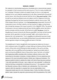 modual c henry reynolds essay year hsc english advanced  modual c henry reynolds essay