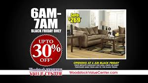 Woodstock Furniture Value Center Black Friday 2016