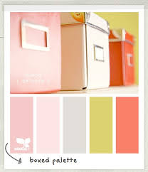 office color palette. A Soft Coral, Pink, And Grey Color Palette. Great Scheme For Office Palette
