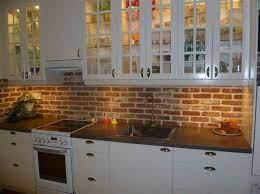 15 Interior Brick Wall Ideas Brick Wallpaper Kitchen Brick Kitchen Exposed Brick Kitchen