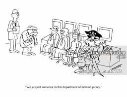 Internet Piracy Cartoons And Comics Funny Pictures From Cartoonstock