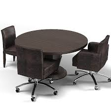 round office table and chairs home gallery round office