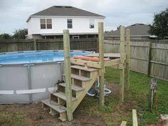 intex above ground pool decks. Interesting Ground Image Of Above Ground Intex Pool Decks  Outdoor Ideas Pinterest  Deck Plans Decking And Deck Plans Throughout S