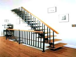 wood stair railing ideas interior wood stair railing ideas handrail metal railings kits in handrails for