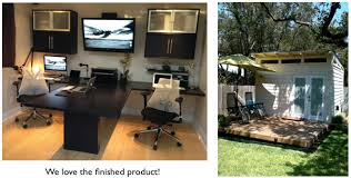 shed home office. we shed home office f