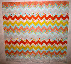 Chevron Quilt Pattern Beauteous Carolyns Chevron QuiltFree Pattern The Quilting Company