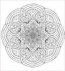 Disegni Da Colorare Difficili Pc38 Regardsdefemmes Con Mandalas Da
