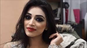 beautiful smokey eye stani indian bridal makeup tutorial