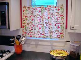 retro kitchen curtains red ideas country cafes beautiful design home picture galry regarding ready to reinforce