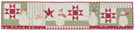 Row-by-row quilt patterns + Moda designers = faboo fabric fun (big ... & 5-Snowy-Day-quilt-designed-by-Anne-Sutton- Snowy Day designed by Anne  Sutton of Bunny Hill Designs Adamdwight.com