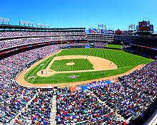 Rangers Ballpark In Arlington Seating Chart Globe Life Park In Arlington Wikipedia