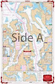 Waterproof Charts Standard Navigation 30 Puget Sound