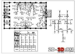 Электроснабжение ремонтно механического цеха чертежи и расчеты в  Проектирование системы электроснабжения токарного цеха