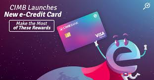 cimb launches new e credit card with