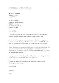 Best Accounting Assistant Cover Letter Examples Collection Of