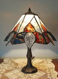 colored glass lighting. Custom Made Tiffany Style Stained Glass Lamp For Home Or Office Colored Lighting I