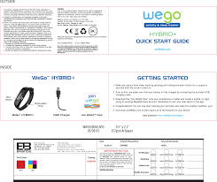 9439 Hybrid Activity Tracker User Manual Wo9439is01spoai Reac