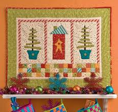 68 best Free patterns! images on Pinterest | Projects, Flower ... & Home for Christmas Wall Hanging From Christmas Quilts from Hopscotch by  Heather Willms and Elissa Willms free pattern Adamdwight.com