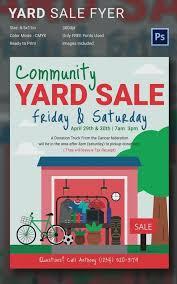 Garage Sale Flyers Free Templates Free Yard Sale Flyer Template Tax Sale Flyers Free Neighborhood