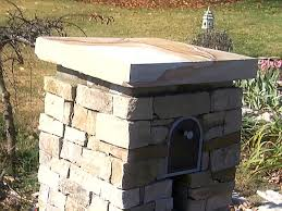 Stone Mailbox Surround Video DIY