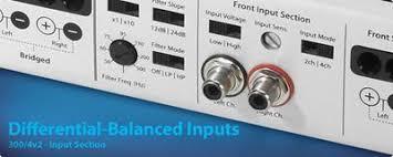 jl audio slash v2 series 250 1v2 mono subwoofer amplifier 250 Jl Audio Subwoofer Wiring Diagram differential inputs for low noise jl audio jl audio sub wiring diagram