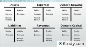 Double Entry Chart Double Entry Accounting Charts Accounting Accounting