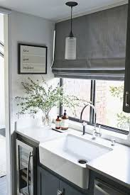 roman blinds kitchen.  Kitchen Roman Blind Colour Great And Greenery In Corner Just Adds That Softness  Crisp White Goes Well For Blinds Kitchen L