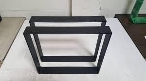 industrial furniture legs. Coffee Table Legs New Industrial 2 5 Steel Flat Bar Square Furniture
