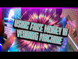 How To Make Fake Money For Vending Machines Mesmerizing Try To Used Fake Money On Vending Machine Get Chased By Cops YouTube