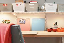 home office small office home office. Use Bins To Create Office Storage On Shelves Home Small O