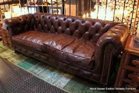 vintage leather couch. Worn Leather Sofa And Vintage Distressed Brown Regarding Beds (Image Couch