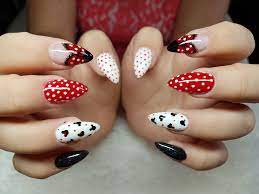Mickey Mouse Nail Art | Mickey mouse nail art, Mickey nails, Mickey mouse  nails